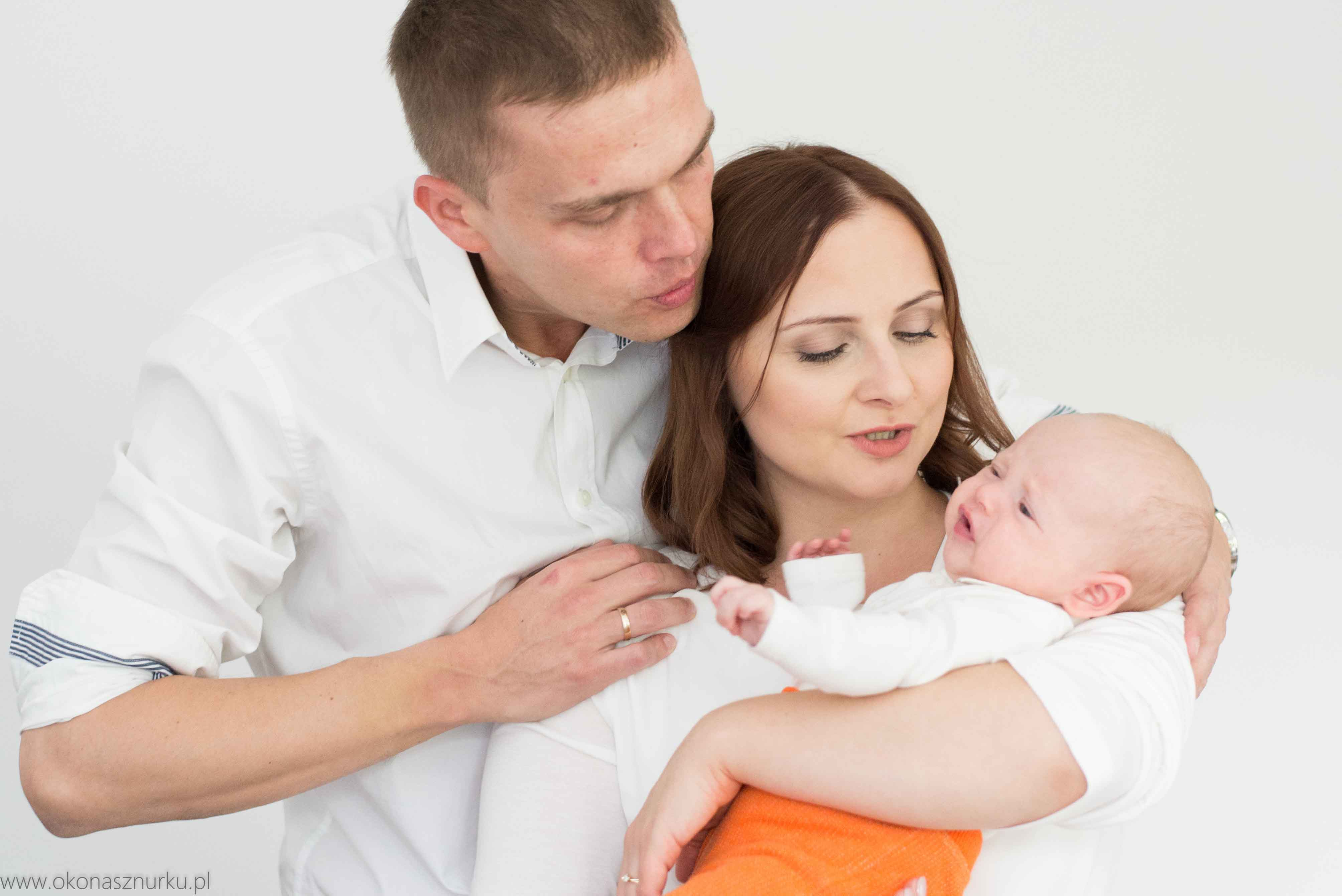 domowa sesja rodzinna w domu fotografia rodziny Wrocław